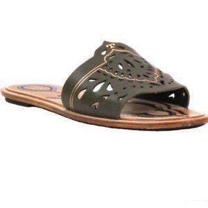 Tory Burch Annika Banana Leaf Sandals
